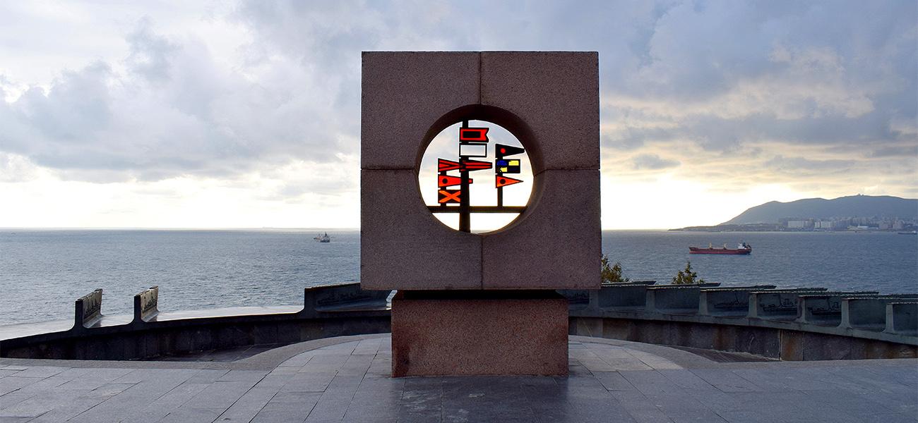 Память в камне: монумент затопленным кораблям в Новороссийске