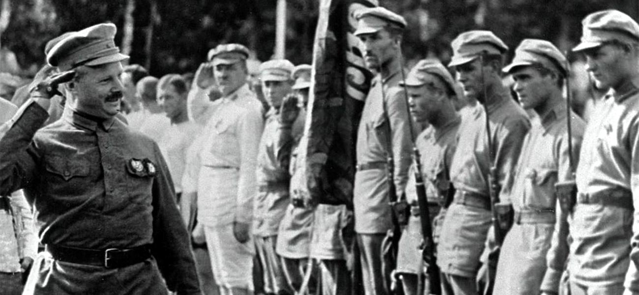 Имя в названии: Михаил Фрунзе — генерал от революции