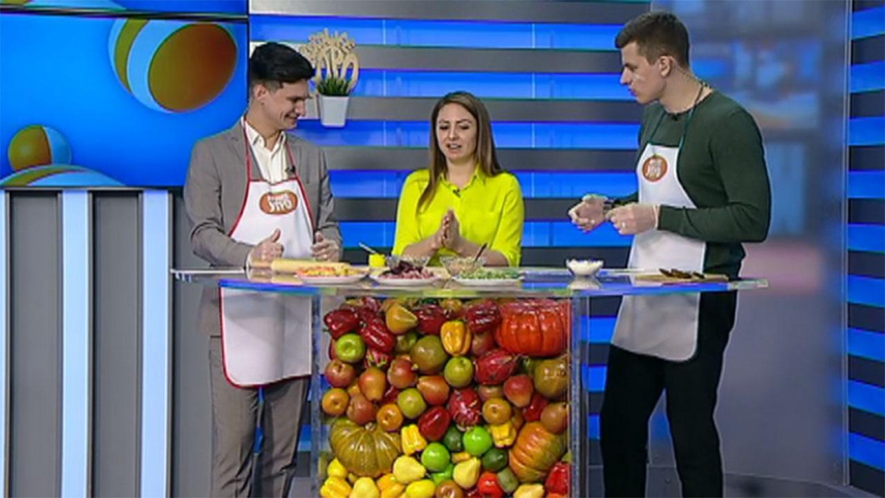 Екатерина Левченко: тесто для цветных пельменей делается на основе сока