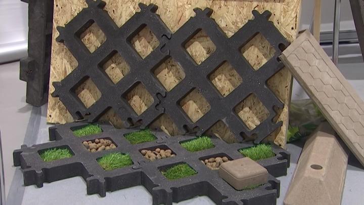 В Краснодаре на выставке YugBuild представили эко-плитку из отходов пластика
