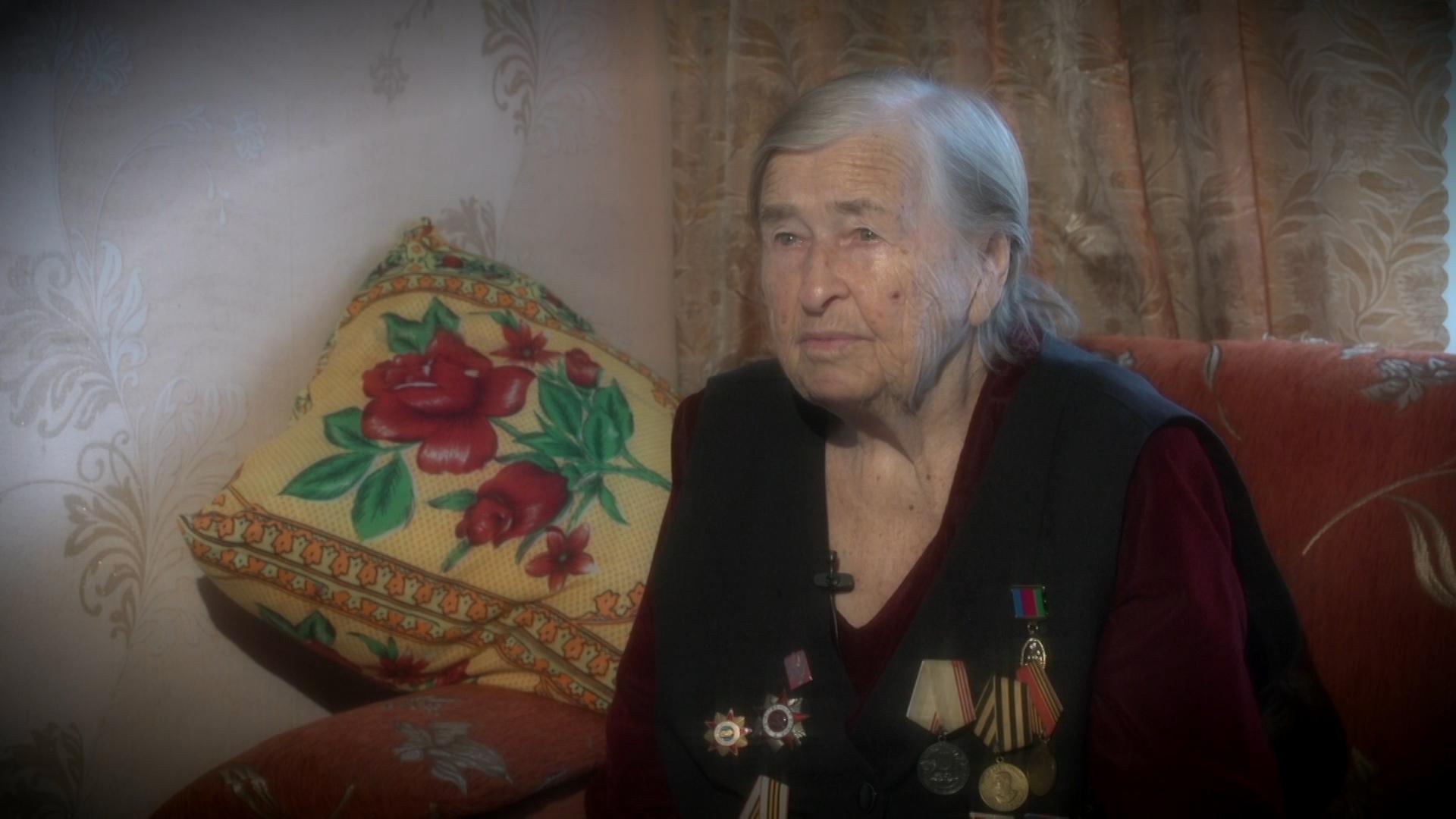 Хроники Победы в рассказах фронтовиков. Валентина Корень