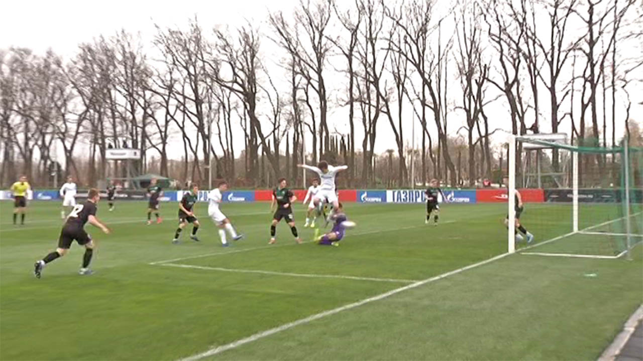 Игроки юношеской команды «Краснодара» дома провели матч с «Зенитом»