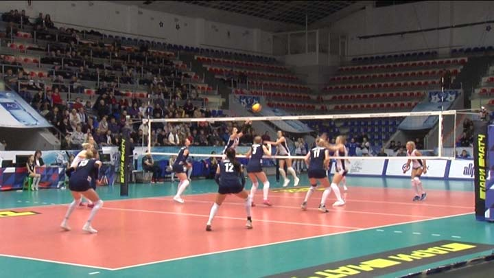 Волейболистки краснодарского «Динамо» заняли седьмое место в Суперлиге