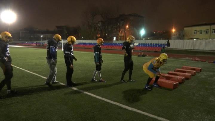 «Краснодарские бизоны» продолжают подготовку к чемпионату России