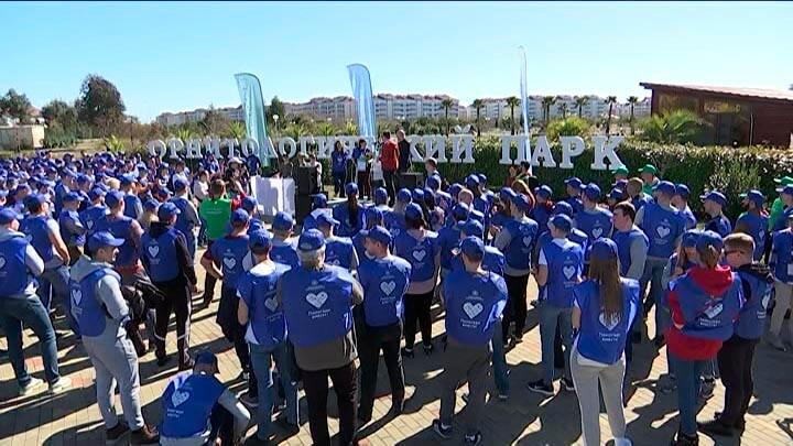 В Сочи корпоративные волонтеры «Филип Моррис» провели экологическую акцию