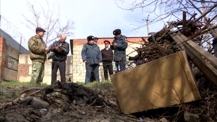 В Динском районе телеканал «Кубань 24» присоединился к рейду по пожароопасности
