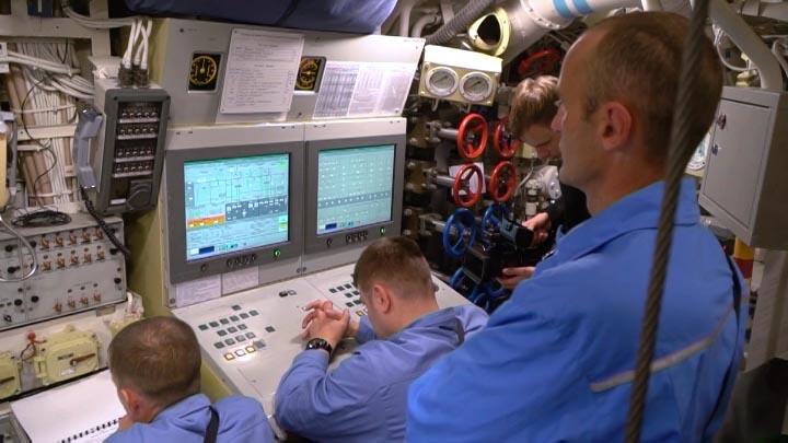 В Новороссийске экипаж подлодки «Великий Новгород» отработал действия при ЧС
