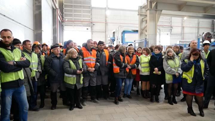 Завод по производству плитки в Курганинске повысит производительность на 30%
