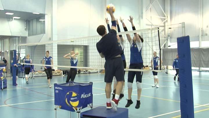 Волейболистки краснодарского «Динамо» продолжают тренировки к плей-офф Суперлиги
