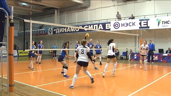 В Краснодаре прошел второй тур финального этапа молодежной волейбольной лиги