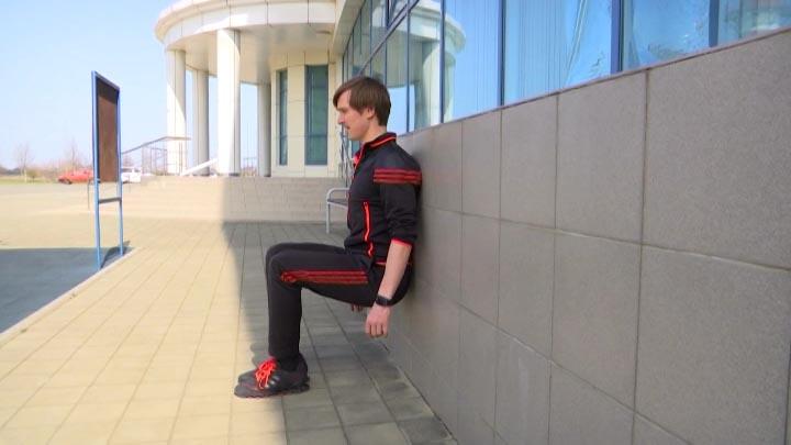 Тренер сборной по фигурному катанию Сергей Добрин провел домашние тренировки