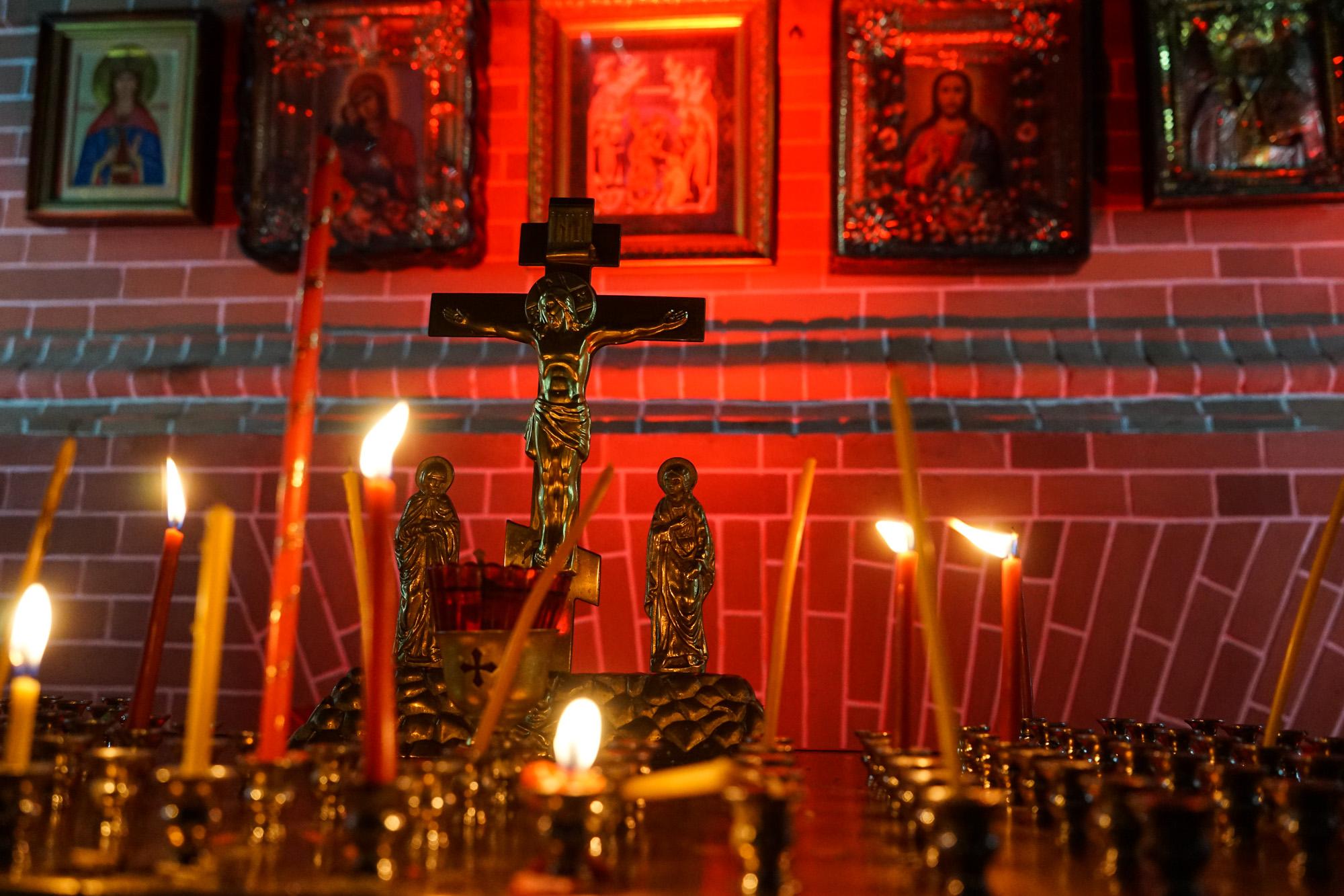 В Свято-Екатерининском кафедральном соборе Краснодара прошла Пасхальная служба
