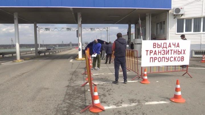 В Кущевском районе на карантинном посту проверяют соблюдение мер карантина
