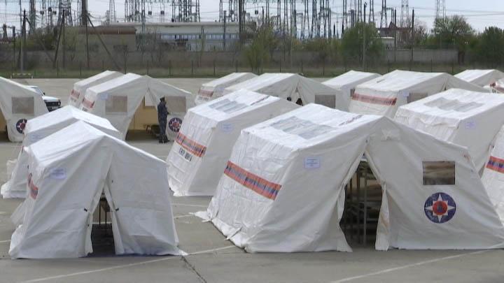 В Славянске-на-Кубани прошли учения на случай обострения эпидобстановки в крае