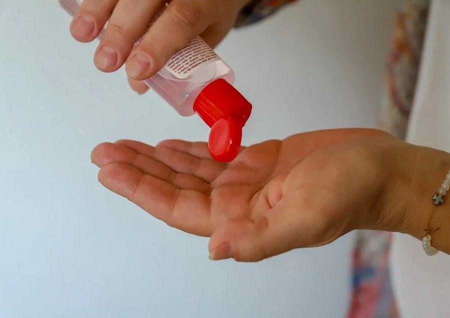 антисептики, сохнут руки, сухая кожа