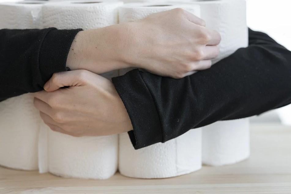 бумажные полотенца, бактерии