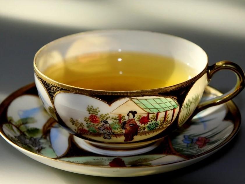 чай, зеленый, серотонин