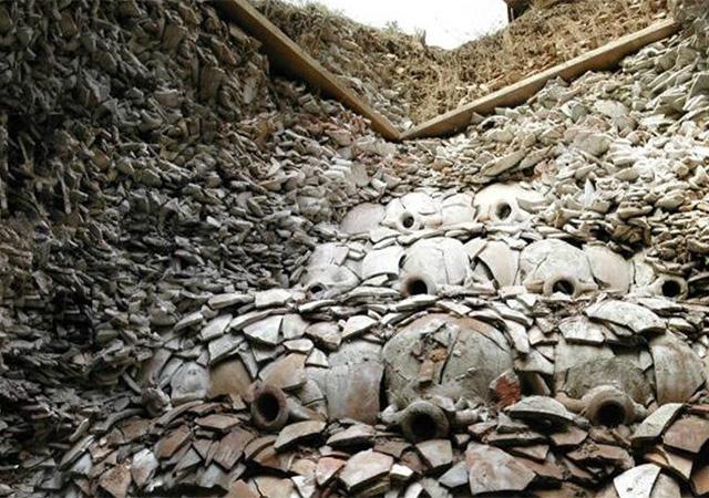 раздельный сбор мусора, древний рим