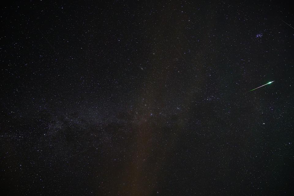 звездопад, метеорный поток
