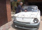 В Ейском районе мужчина превратил старый «Запорожец» в кабриолет