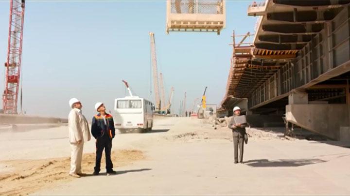 Автомобильная часть моста через Керченский пролив отметила вторую годовщину