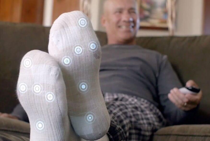 умные носки, переохлаждение