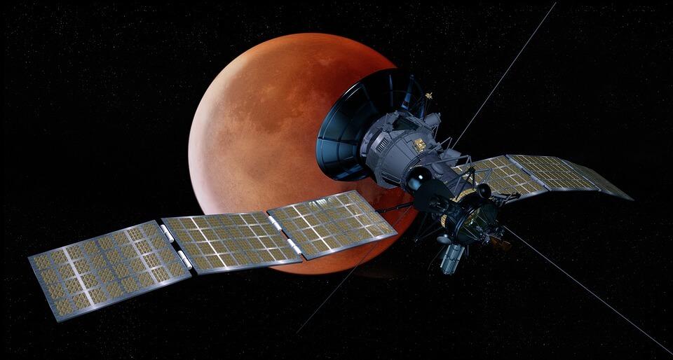 солнечный парусник, космический корабль