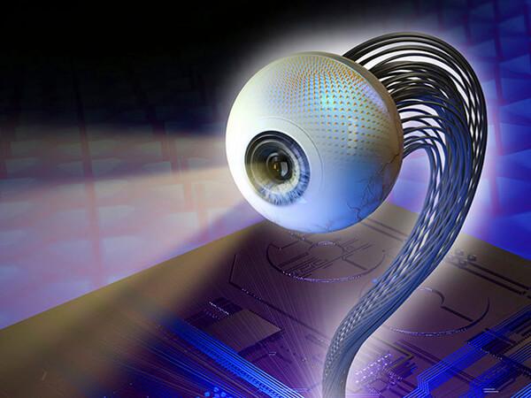 искусственный глаз, бионический протез