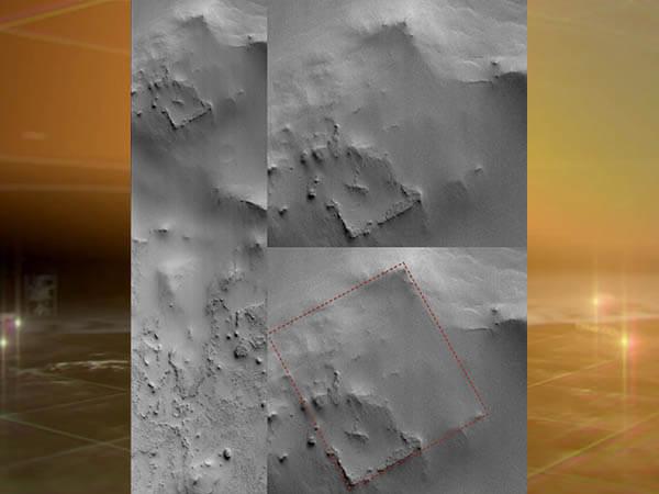 На Марсе обнаружили загадочные руины, похожие на остатки древней крепости