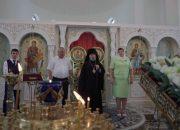 В Новороссийске в храме Петра и Февронии Муромских чествовали 10 семей
