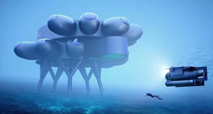 Внук Жака-Ива Кусто планирует к 2023 году построить аналог МКС на дне океана