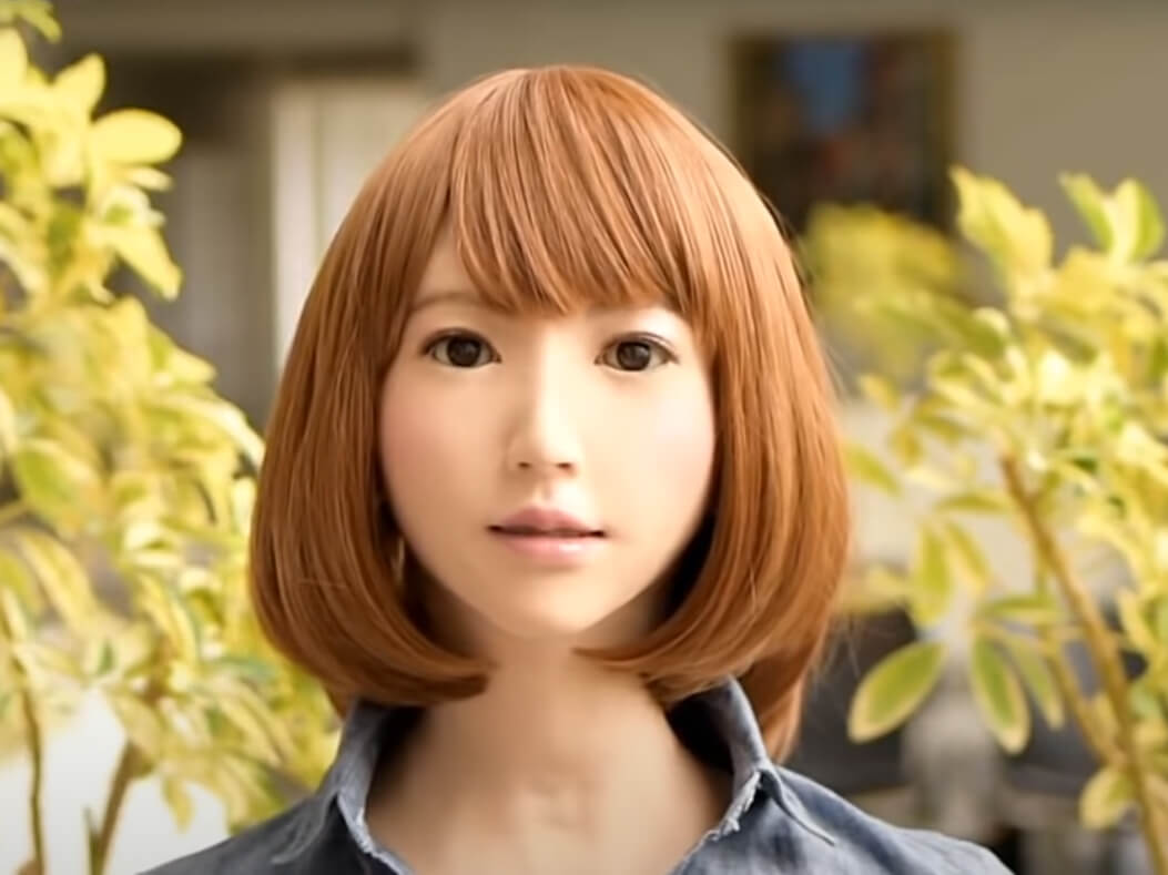 робот-актриса, язык тела