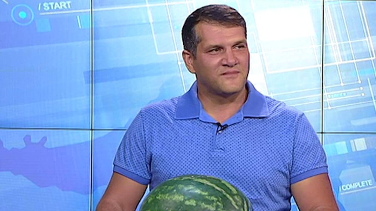Фермер Роман Стеценко: для меня арбузы — как дети