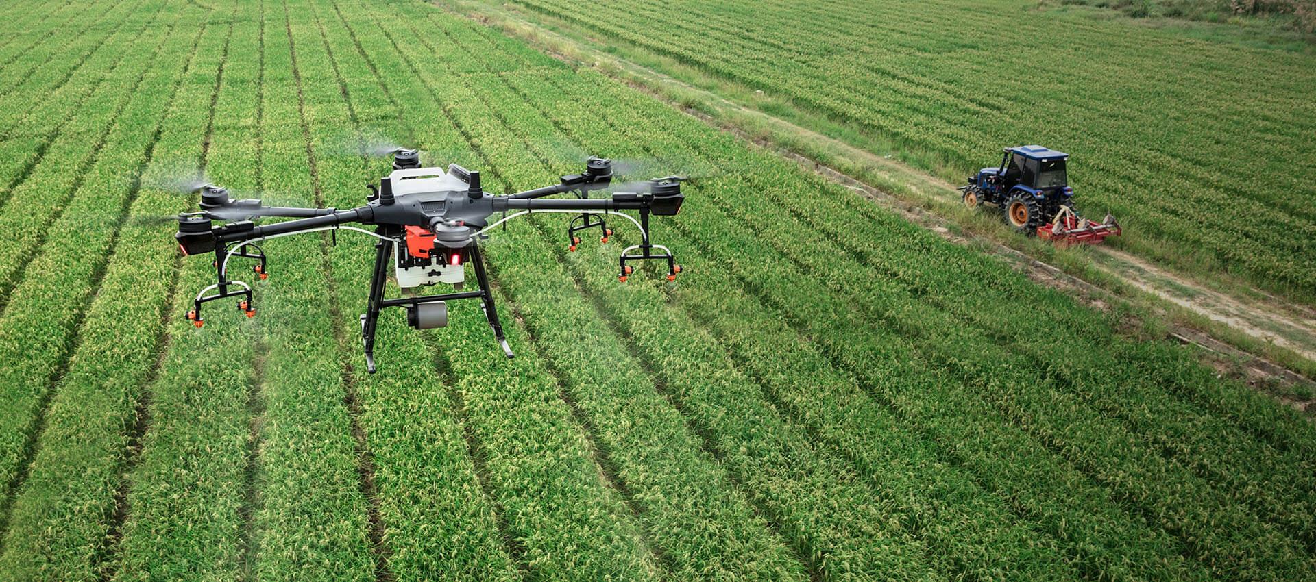 Будущее рядом: дроны помогают кубанским аграриям увеличивать урожай