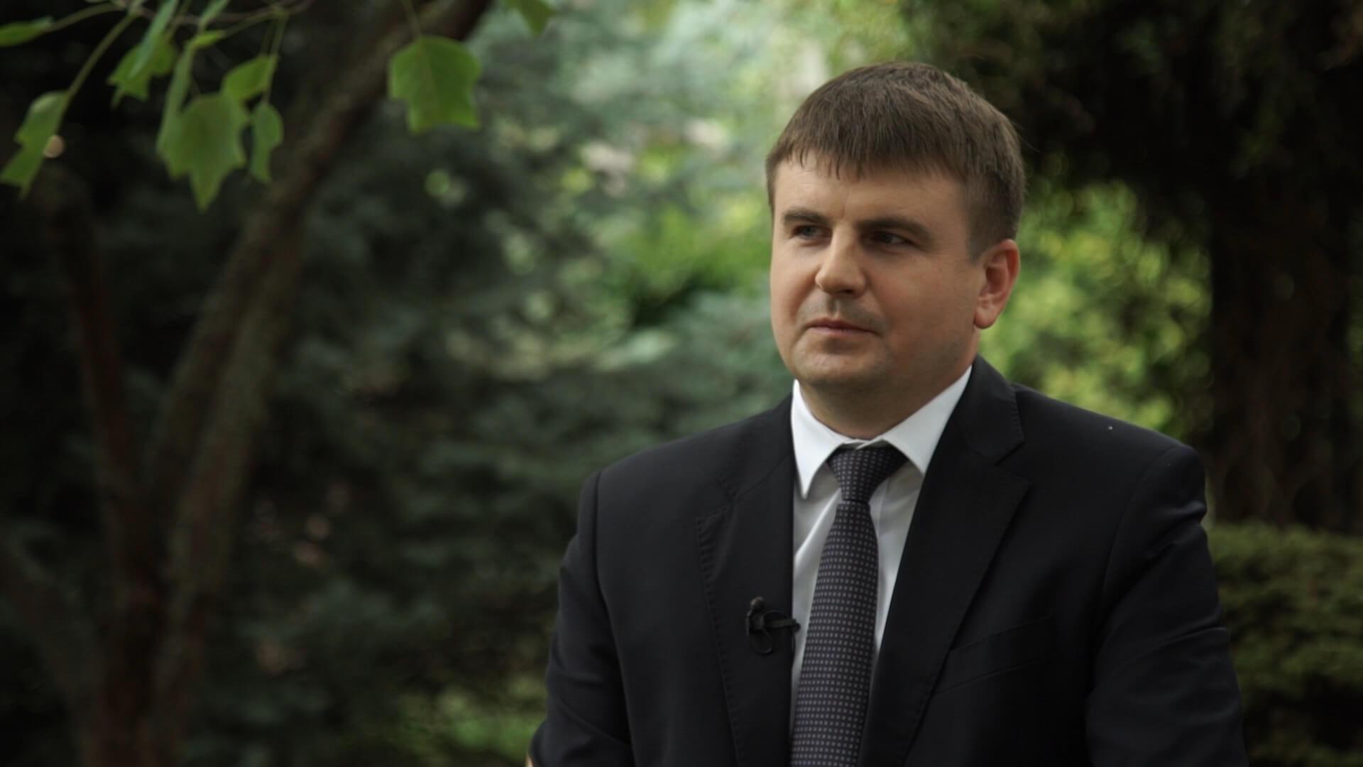 Интервью с руководителем департамента ветеринарии Романом Кривоносом