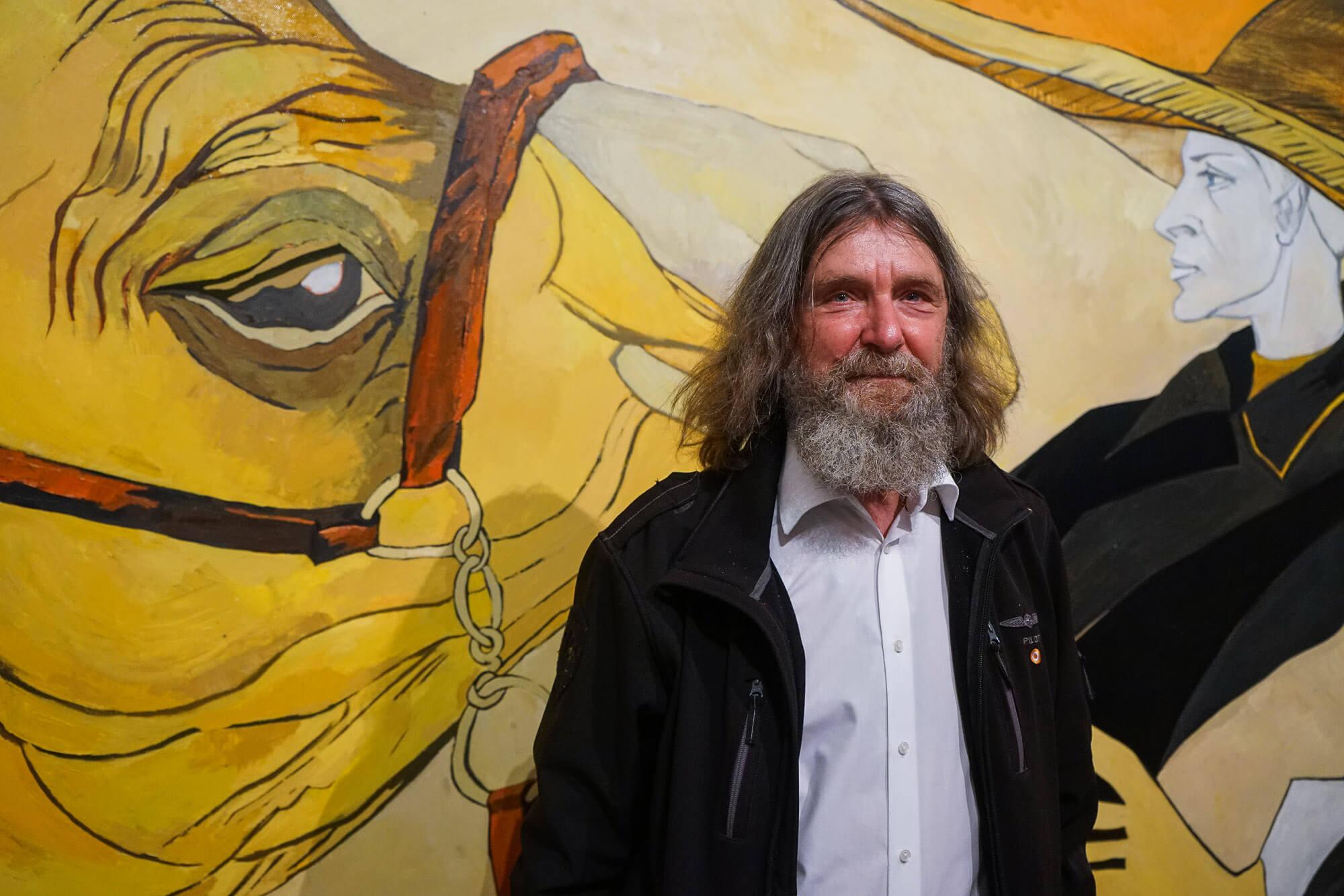 Путешественник Федор Конюхов представил в Краснодаре выставку своих картин
