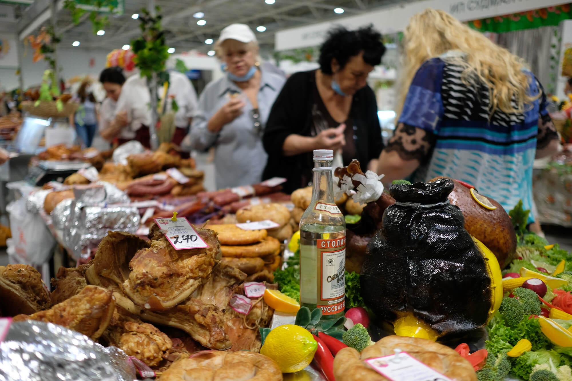 В Краснодаре открылась ежегодная «Кубанская ярмарка»