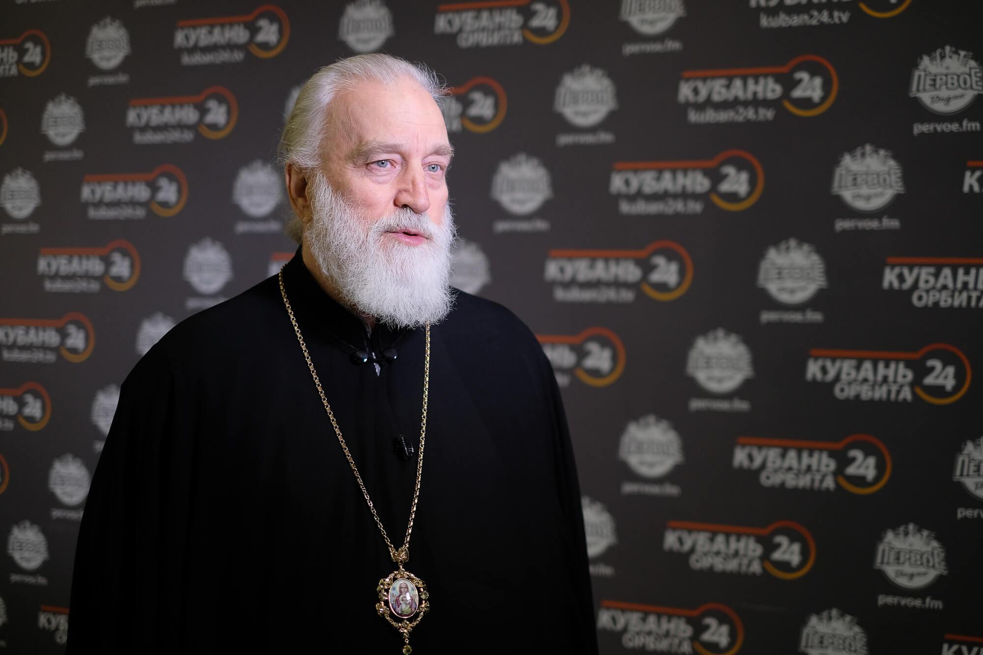 Митрополит Екатеринодарский и Кубанский Павел посетил «Кубань 24». Фоторепортаж