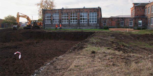 В Краснодаре по нацпроекту начали строить новый корпус школы № 86