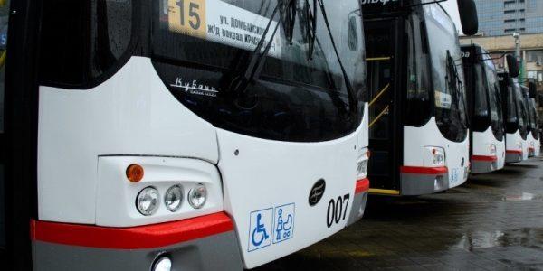 Власти Краснодара планируют купить новые троллейбусы