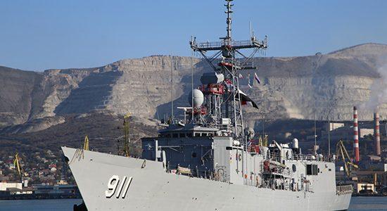 Участвовавшие в учениях в Черном море корабли ВМС Египта покинули Новороссийск