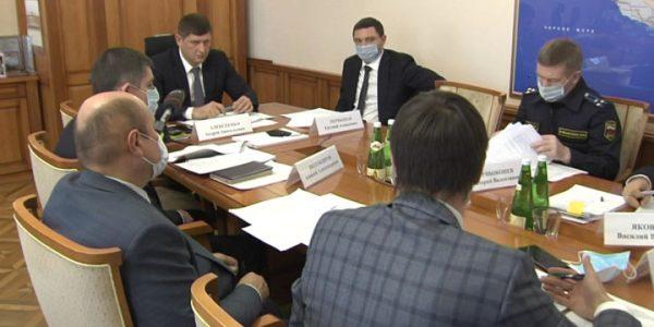 Вице-губернатор Алексеенко провел совещание по вопросам проблемных ЖК в крае