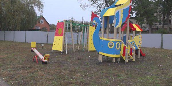 Новую детскую площадку открыли в Кореновске