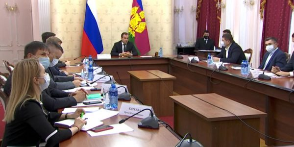 Кондратьев провел совещание по вопросам учета земельных участков и недвижимости
