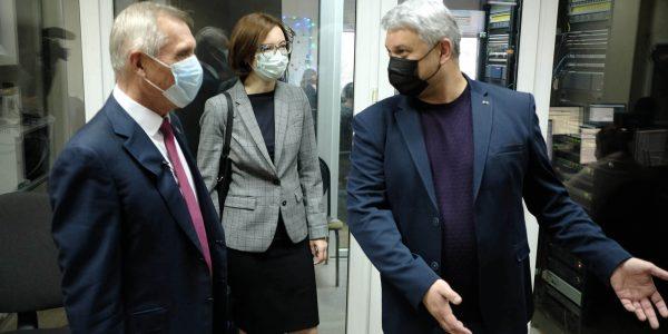 Николай Гриценко и Галина Жукова посетили медиахолдинг «Кубань 24». Фоторепортаж