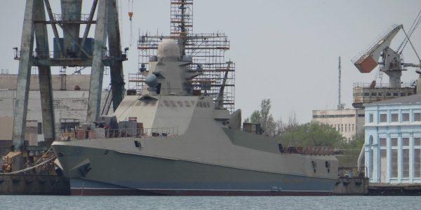 В Новороссийске в состав ЧФ примут новый патрульный корабль «Павел Державин»
