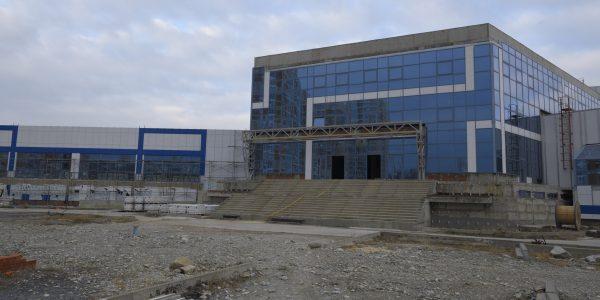 Мэр Новороссийска назвал Дворец спорта «Черноморский» неудачным проектом