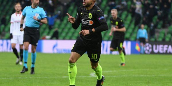 ФК «Краснодар» проиграл «Севилье» в матче Лиги чемпионов