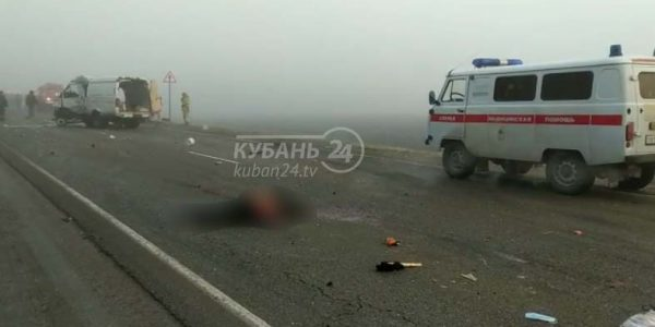 Водитель разбившейся «газели» вез людей на сельхозработы в Усть-Лабинский район