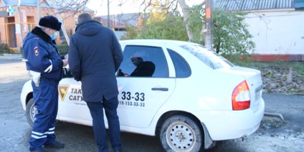 В Лабинском районе провели рейд по соблюдению масочного режима в такси